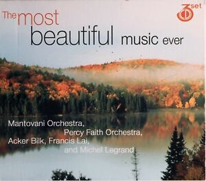 The Most Beautiful Music Ever - 3 CD Set - Free Post