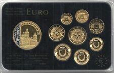 Malta euro Prestige coinset, Gold & rodio, 24 quilates de oro, nuevo, embalaje original, rara vez