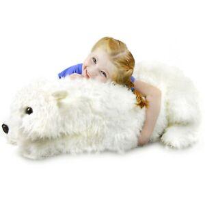 Pearla the Polar Bear - 36 Inch Stuffed Animal Plush - Previously Returned
