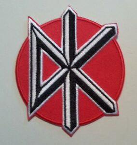 """Dead Kennedys Patch~Embroidered~Iron or Sew on~3 1/4"""" x 2 3/4""""~British Punk Rock"""
