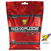 BSN NO XPLODE 3.0 240g Pre-Workout Booster Muscle Energy Pump Growth Anabolic