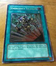 Yugioh Emergency Teleport Ultimate Rare 1st Ed TDGS-EN053 LP/MP