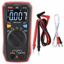 UT123T Digital Multimeter Taschengröße AC/DC 600V NCV Temperatursonde AUTO RANGE