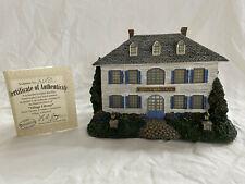 "Thomas Kinkade Lamplight Village ""Village Library"". Hawthorne Village"