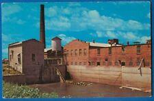 Mill Stream, Hydro Power Plant, Amana Woolen Mill, Amana, Iowa