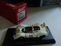 Best 1/43 Porsche 908/2 #55 Brands Hatch 1969