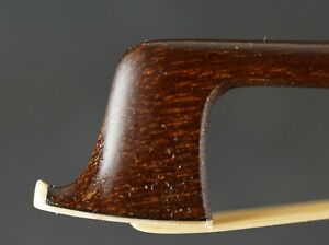 OLD VIOLA BOW FRENCH STYLE SIGNED ...A PARIS