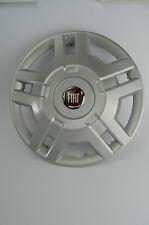 "Radkappe Radblende Radnabendeckel Fiat Ducato 15"" mit rotem Fiatemblem - NEU -"