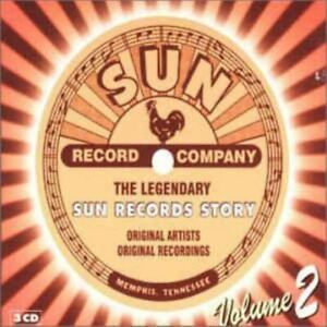 THE LEGENDARY SUN RECORDS STORY VOL 2 various (3X CD, compilation, box set)