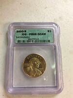 2000-S SACAGAWEA $1 COIN ICG-PR69 DCAM
