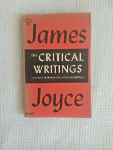 James Joyce, The Critical Writings, Mason & Ellman, Compass Books, 1965