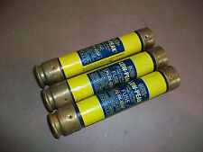 3pc Buss Low Peak Yellow Fuse LPS-RK-60SP       USED
