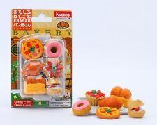 Food Iwako Japanese Eraser Bakery Gift Card Set #38333