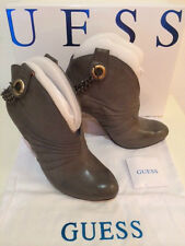 Original GUESS bottes bottines boots GGREY EUR taille 38 size US 7 UK 5