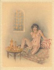 Edouard Chimot Modern Reprint - Roses des sables #2 - Ready to frame