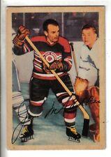 1953-54 Parkhurst hockey card #77 Jim McFadden, Chicago Blackhawks EX