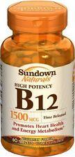 Sundown Vit B12 1500mcg Tr Tablet 60ct
