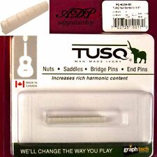 Sillet  Graph Tech Tusq PQ-6134 Acoustic Morgan Gibson Taylor Slotted Nut 1-3/4""