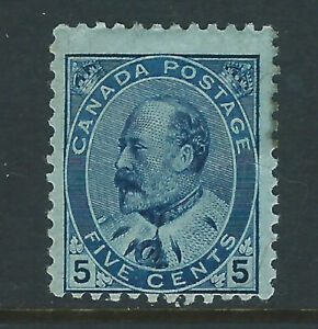 Bigjake: Canada #91, 5 cent King Edward VII