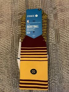 Stance NBA Basketball Logo Cleveland Cavaliers Socks Size: Large 9-12