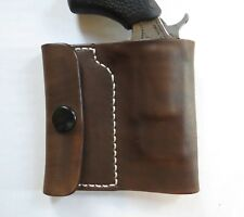 NORTH AMERICAN ARMS PUG LEATHER POCKET HOLSTER