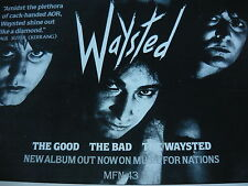 WAYSTED - MAGAZINE CUTTING (FULL PAGE ADVERT) (REF S)