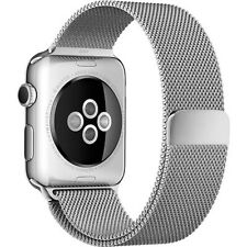 NEW Silver Milanese Loop Stainless Band for Apple Watch 42mm Magnetic Closure