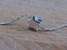Tiny star necklace, silver star necklace, dainty necklace, bridesmaid gift,charm