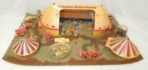 American Flyer Circus Set Assembled Cutouts Diorama for set 5002T S gauge trains