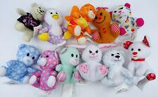 Build a Bear Workshop Mini Plush Stuffed Animals Lot of 10 McDonalds Premiums