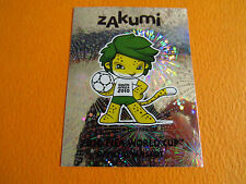 29 MASCOTTE OFFICIELLE  PANINI FOOTBALL FIFA WORLD CUP 2010 COUPE MONDE