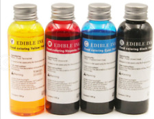 Best Quality 100ML/Bottle 4 Colors Refill Edible Ink For HP 803 Coffee Printer