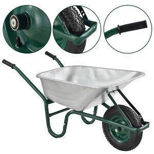 Schubkarre Bauschubkarre Transportkarre Metall Schiebkarre Gartenwagen Juskys®