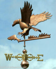 Wonderful Eagle Weathervane W/Fish Copper Balls & Brass Directionals #114