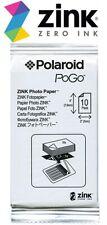 Polaroid Zink 10 Sheets PoGo Photo Paper 2X3 Fit Z2300 SNAP Mobile SEALED