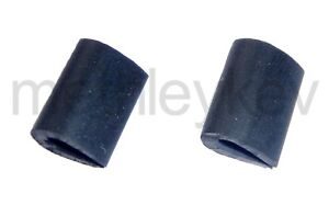 LID RUBBER FOOT PAIR FOR TECHNICS SL1200 SL1210 DUSTCOVER TURNTABLE