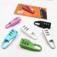 Mini 3 Digit Combination Security Safe Travel Luggage Code Lock Padlock