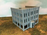 20th Century Multi Floor HOTEL or Office Building - N Scale 1:160 - 3D Model USA