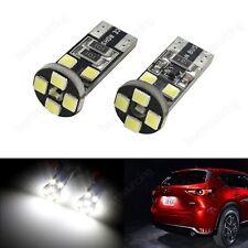 10x 501 8-SMD T10 LED Standlicht Innenraum Beleuchtung Kennzeichenbeleuchtung