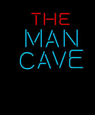 "New The Man Cave Neon Light Sign 17""x14"" Home Wall Decor Lamp Artwork Display"