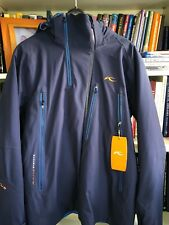Kjus Mens Detour Ski Jacket, Navy Blue, 52 L, NWT $1299.99