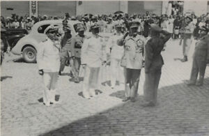 #25377 Greece 1940s. Army & navy officers. Photo.