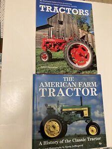 Set of 2~ILLUSTRATED HISTORY of the TRACTOR + TRACTORS~ Moorhouse~Hardback~1996