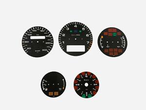 Porsche 911 964 993 300 Km Speedometer dials from MPH to KMH Gauges Cluster