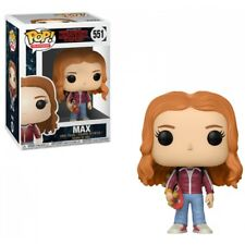 Funko Pop Vinyl Stranger Things S2 Max With Skateboard #551 Figure