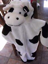 Chrisha Playful Plush Cow One Piece Costume 2-4 Years