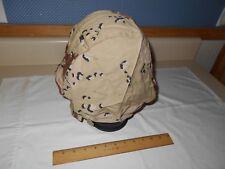 PASGT Helmet Cover, 1990, Sz. Medium-Large, Choc. Chip Desert Camo.
