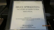 Bruce Springsteen, The Story Of Born To Run; Pr-Only Radio Special CD