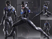 DC COMICS PLAY ARTS KAI NO.06 NIGHTWING BATMAN ARKHAM KNIGHT ACTION FIGURE TOY