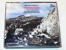 Bernard Herrmann WUTHERING HEIGHTS Opera in Four Acts Lucille Fletcher 3 CD Set